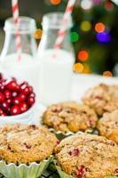 muffin de arándanos foto