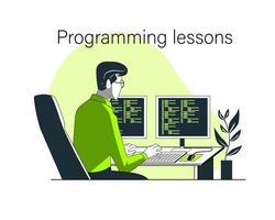Programming lessons design