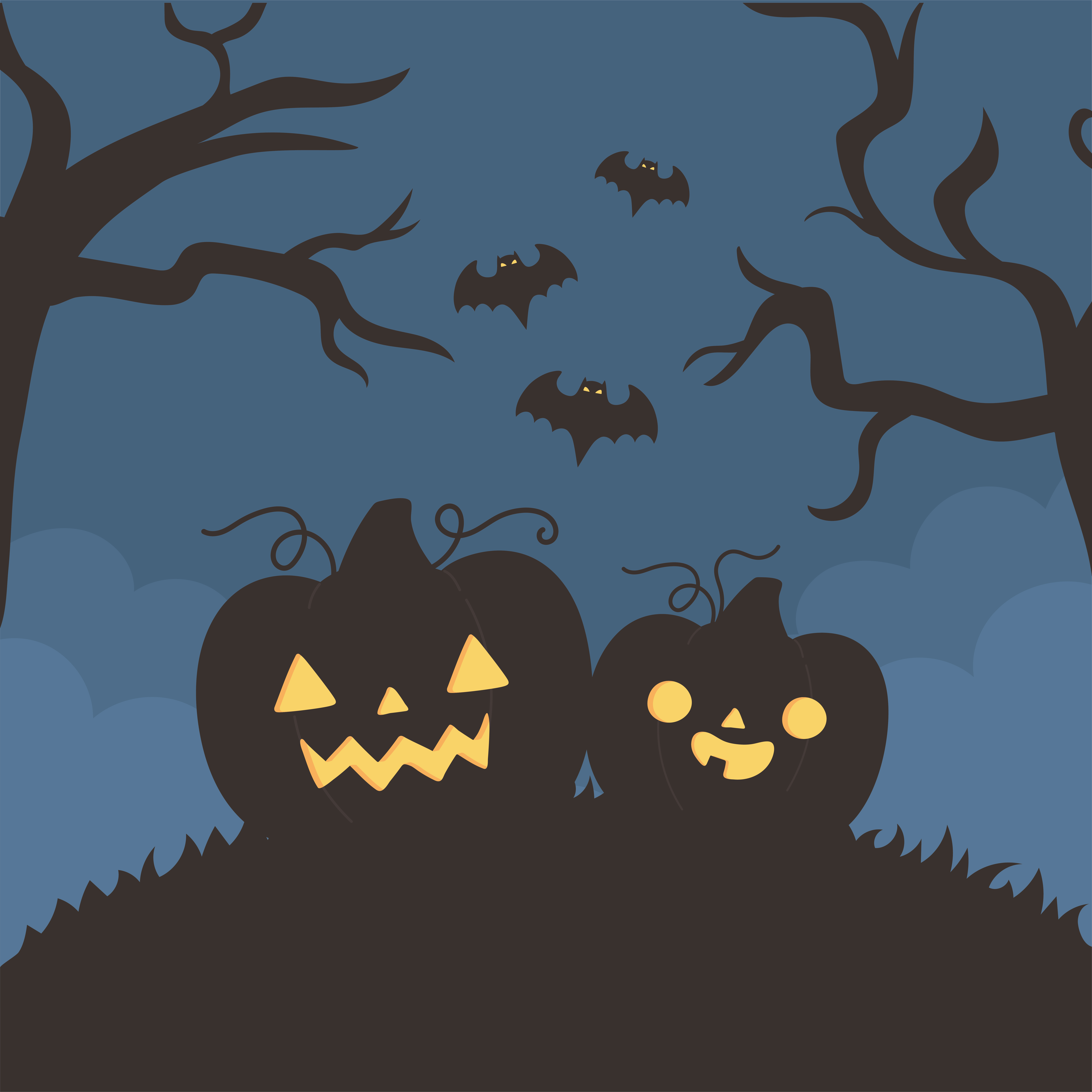 Pin Flying Bats Clipart - Acrostic Poems About Halloween - Free Transparent  PNG Clipart Images Download