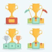 Trophy reward cartoon collection