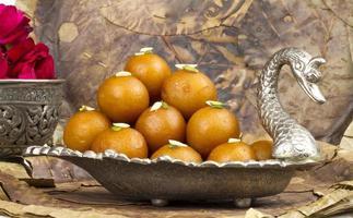 Gulab Jamun, Indian traditional sweet food