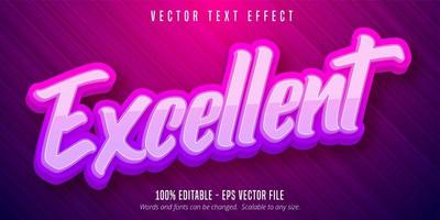 Excellent pink purple text effect
