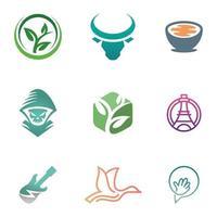 9 Miscellaneous Logos Set