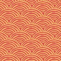 Clear red japan traditional wave pattern