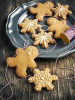 galletas de pan de jengibre de navidad