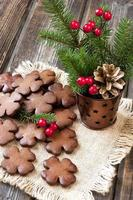 Homemade Christmas cookies photo