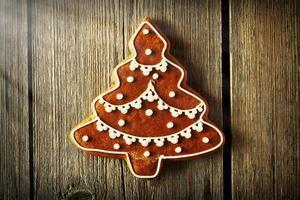 galleta de jengibre casera de navidad