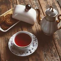 Ideal cup of tea photo