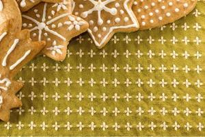 biscuits de pain d'épice de Noël
