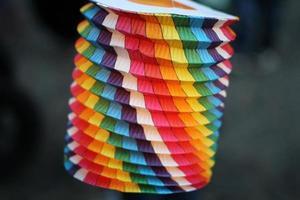 Lampara de papel