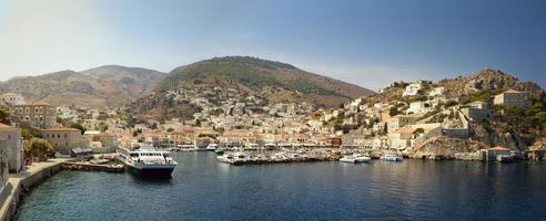 Hydra harbour photo
