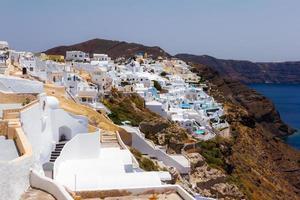 Oia Village en Santorini, Grecia foto