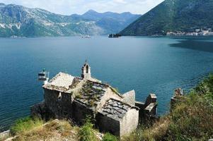 Church on the coast of Kotor bay