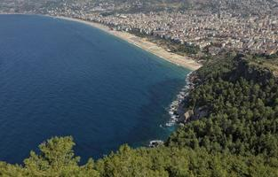 playa cleopatra en alanya foto