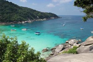 Beautiful and cosy Bay of the Andaman sea. Thailand photo