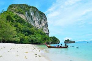 ฺBeach on poda island in Thailand photo