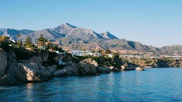 Resort town of Nerja in Spain. photo