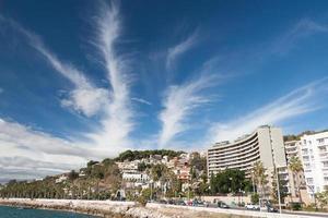Coastline at Malaga photo