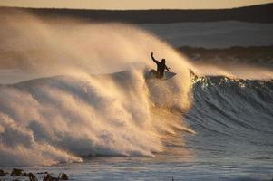 Surfing into the Golden Sun photo