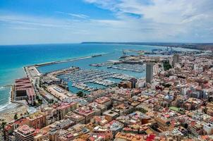 Alicante harbour, Costa Blanca, Spain