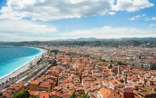 city of Nice in France photo