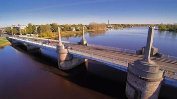 il ponte trovato nella città di parnu