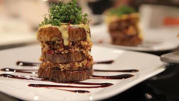 nourriture végétalienne - hamburger