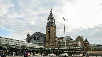estación central de hamburgo dslr hyperlapse