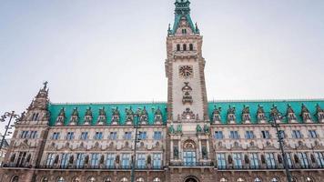 Hyperlapse del ayuntamiento de Hamburgo
