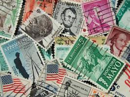 US-Stamps photo