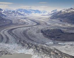 Glacier, Kluane National Park, Canada photo