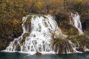 parque nacional de plitvica, croacia foto