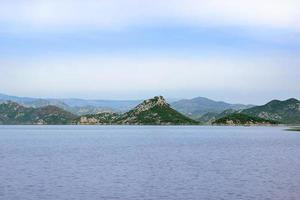 parque nacional lago skadar, montenegro foto