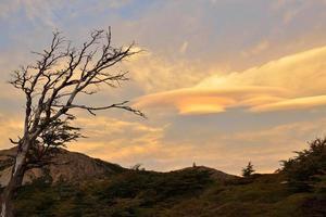 Lenticular Clouds in Parque Nacional Los Glaciares photo