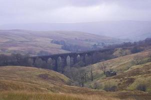 Denthead Viaduct. Yorkshire Dales, National Park