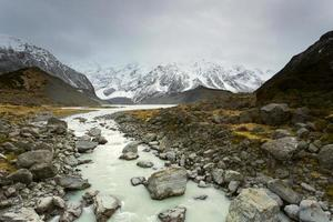 Hooker Valley, Mount Cook National Park photo