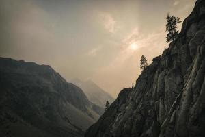 Hazy view, Kings Canyon National Park photo