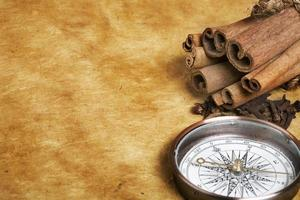 Compass and spices