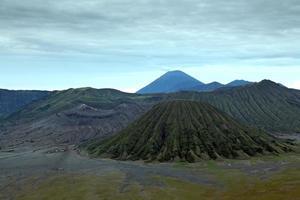 Parque Nacional de Bromo na Indonésia