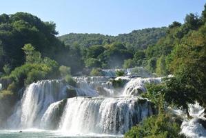 Falls in Krka National Park