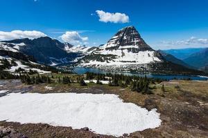 Hidden lake, Glacier National Park photo
