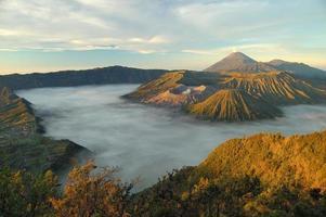 gunung bromo, java, indonésia