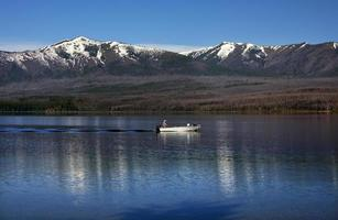 Lake McDonald Fishing Glacier National Park Montana