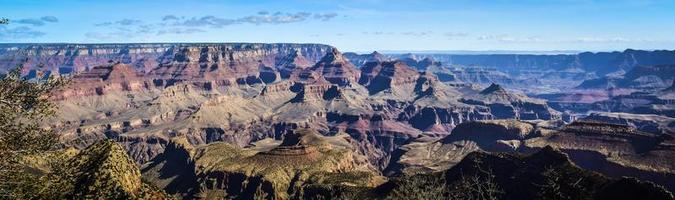 impressive panorama over Grand Canyon
