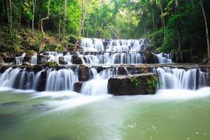 Waterfall in Namtok Samlan National Park photo