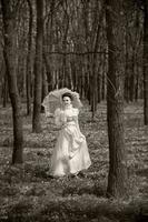 Victorian Style. Walk. photo