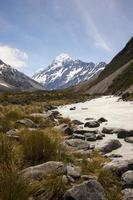 Mt Cook National Park, New Zealand photo