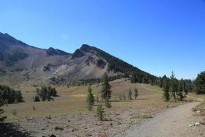 Trail at Crater Lake National Park photo