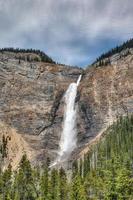 Takakkaw Falls in Canadian Rockies photo