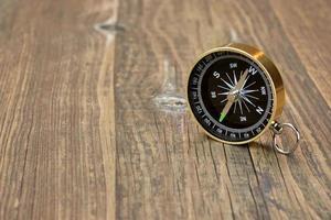 Vintage Compass Close-up